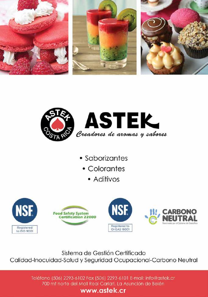 146 ASTEK - Revista Alimentaria